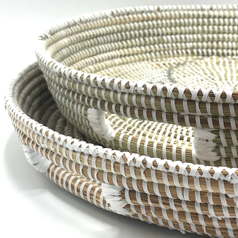 Handwoven Trays - Bagel&Griff