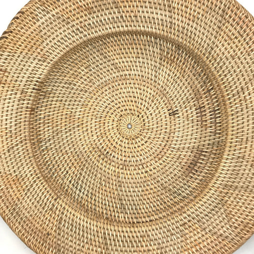 Natural Rattan Plates - Bagel&Griff