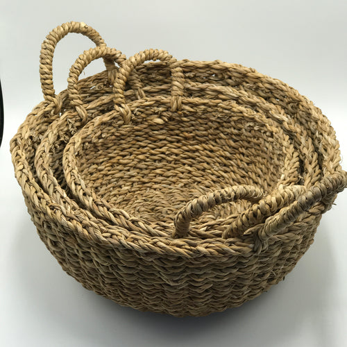 Round Handled Baskets - Bagel&Griff