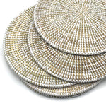 Woven Grass Placemats and Coasters - Bagel&Griff