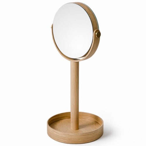 Oak Vanity Mirror - Bagel&Griff