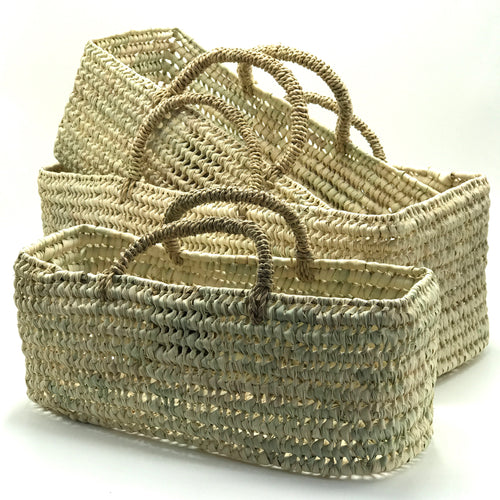 Rectangular Carrier Baskets - Bagel&Griff