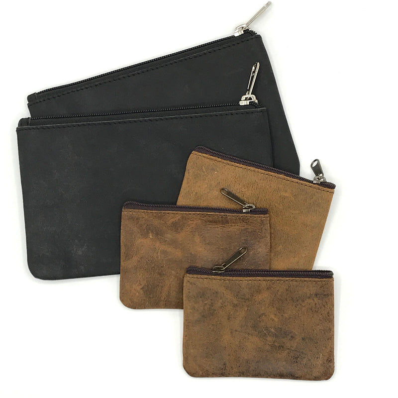 Leather Pouches - Bagel&Griff