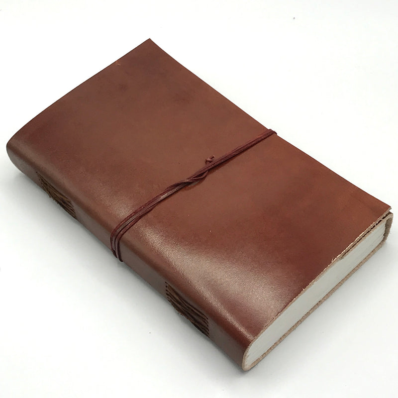 Tan Wrap Leather Journals - Bagel&Griff