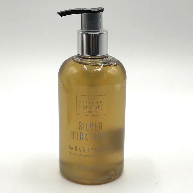 The Scottish Fine Soaps Company Silver Buckthorn Hair & Body Shampoo - Bagel&Griff