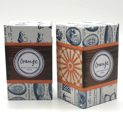 Rococo Chocolates Orange Wafers - Bagel&Griff