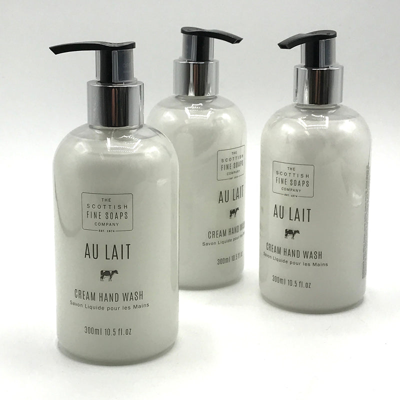Au Lait Cream Hand Wash - Bagel&Griff
