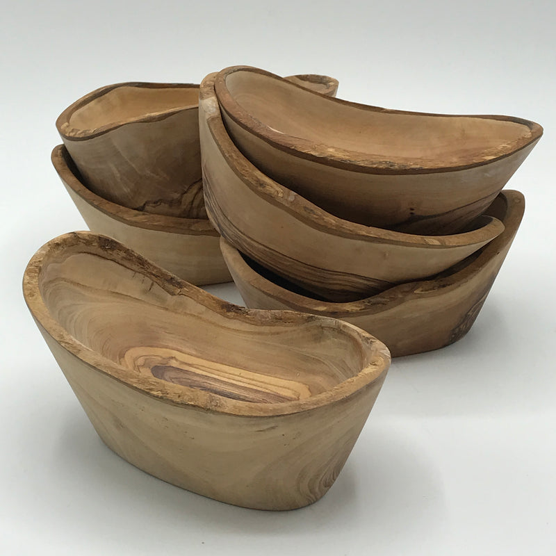 Small Olive Wood Nibble Bowl - Bagel&Griff