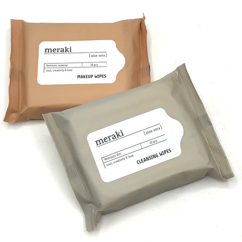 Meraki Cleansing & Make Up Wipes - Bagel&Griff