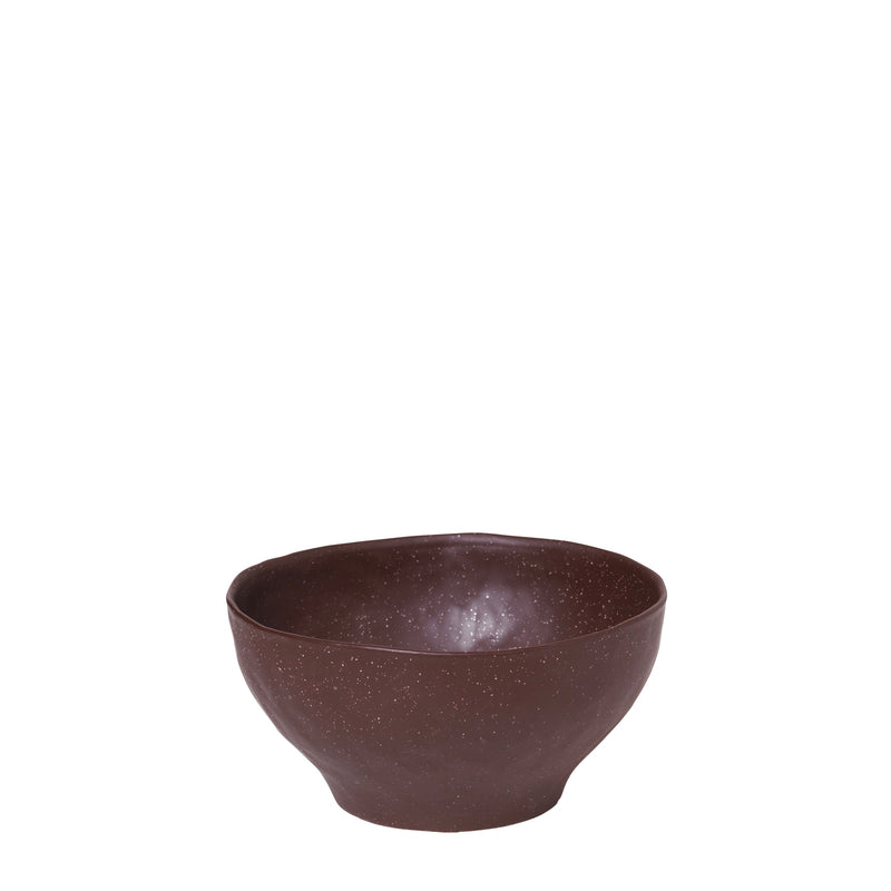 Small Rust Porcelain Bowl - Bagel&Griff