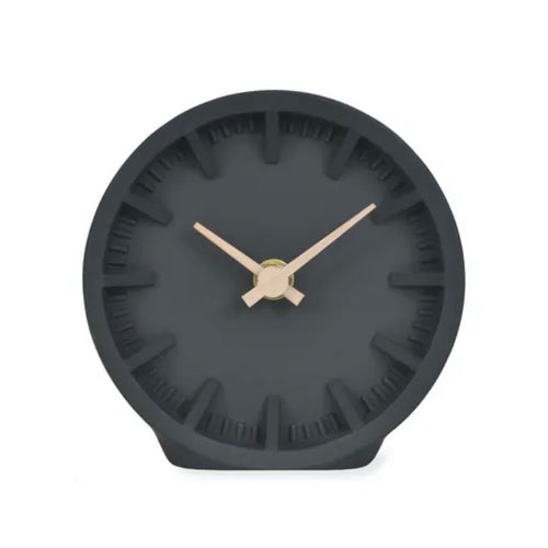Black Desk Clock - Bagel&Griff