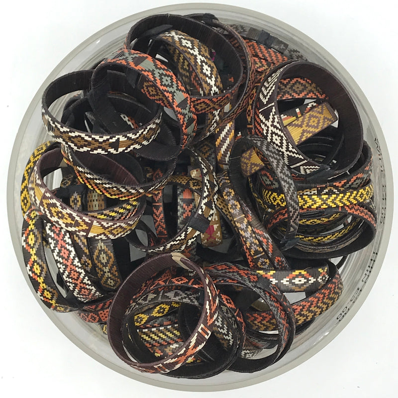 Neutral Woven Colombia Bangles