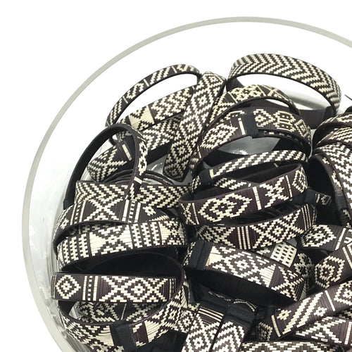 Black&White Woven Colombia Bangles