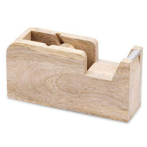 Mango Wood Tape Dispenser - Bagel&Griff