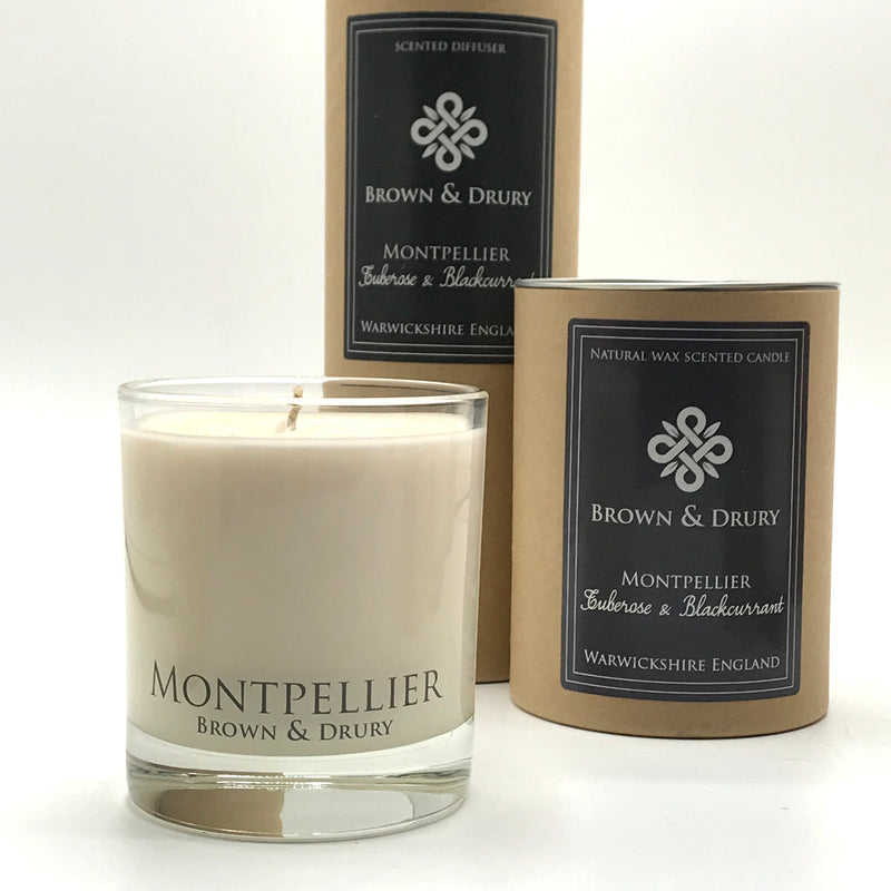 Brown & Drury Montpellier Candle and Diffuser
