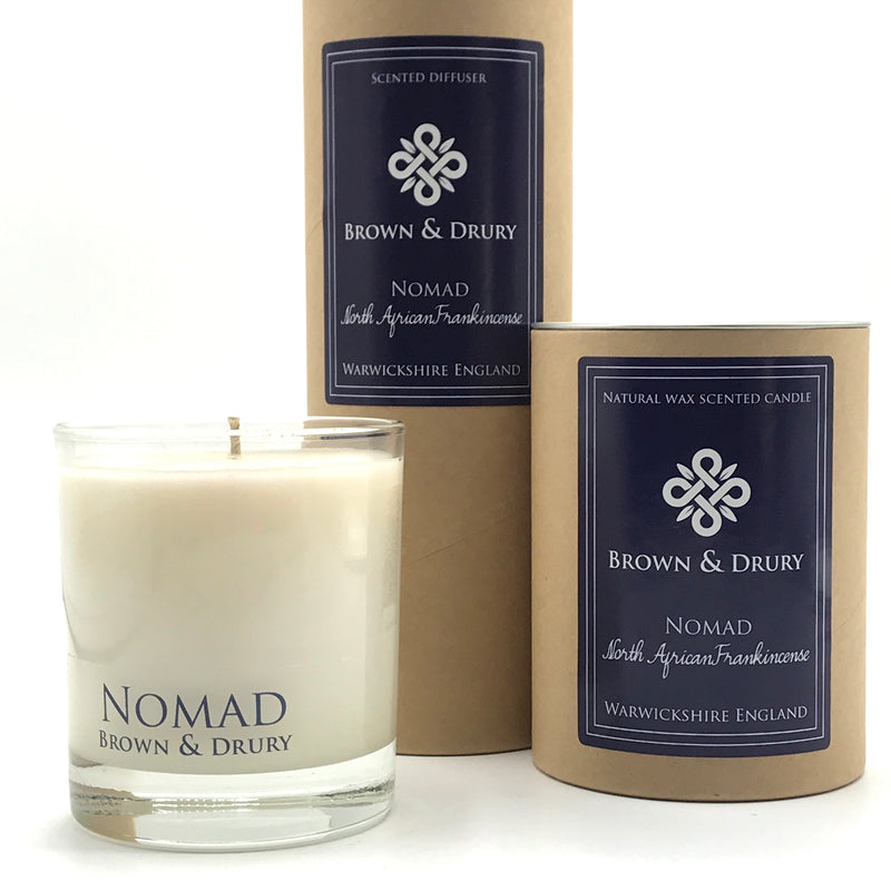 Brown & Drury Nomad Candle and Diffuser