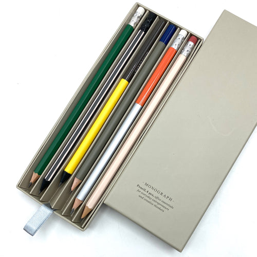 Monograph Pencil Set. Style Two. - Bagel&Griff
