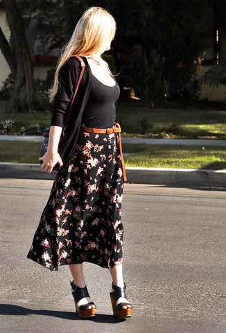 Are long skirts still in trend?