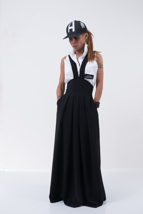 Extravagant Long Loose skirt - Clothes By Locker Room