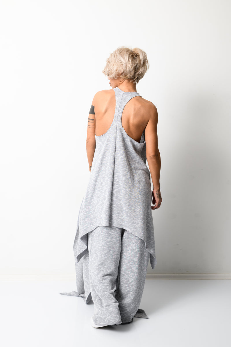 Grey Three Pieces Set for Women