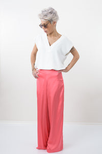 Wide Leg Summer Extravagant Low Crotch Pants