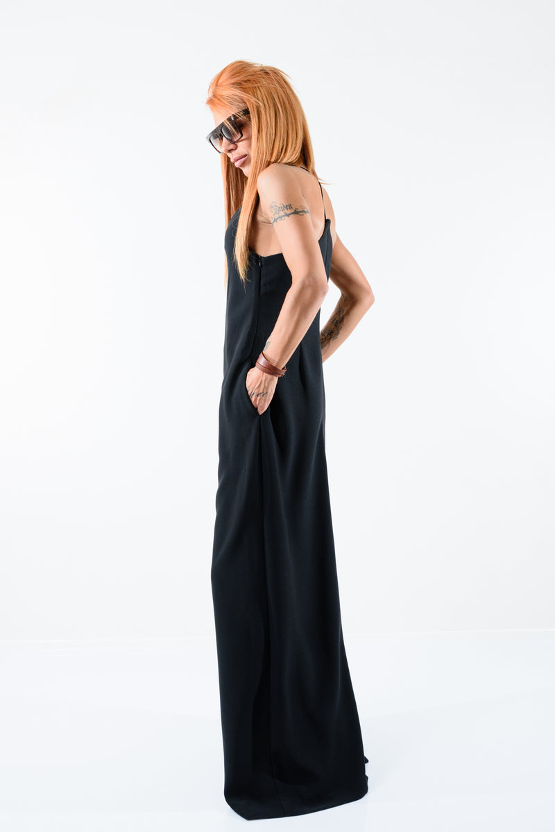 Black Maxi Jumpsuit - Clothes By Locker Room