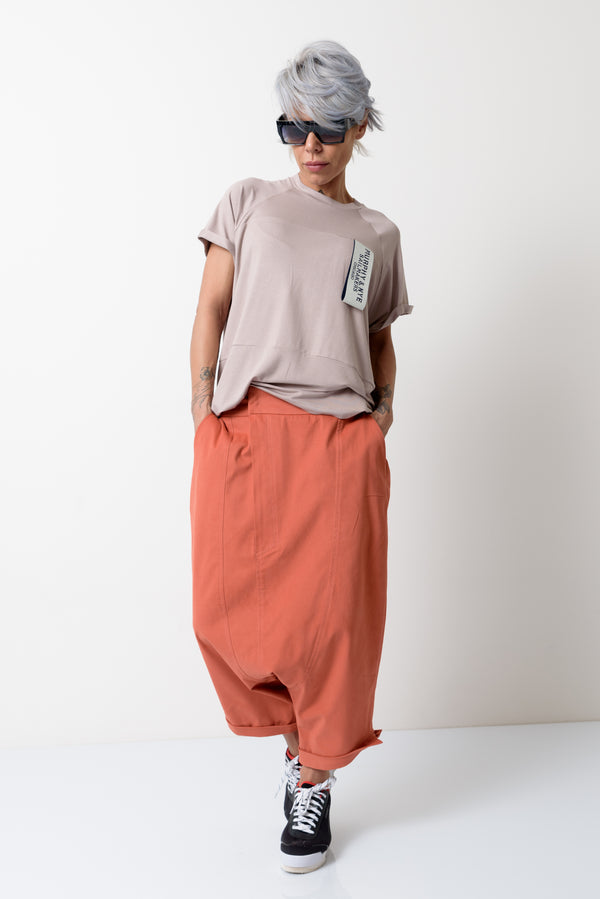 Loose Wide Leg Harem Pants - Clothes By Locker Room