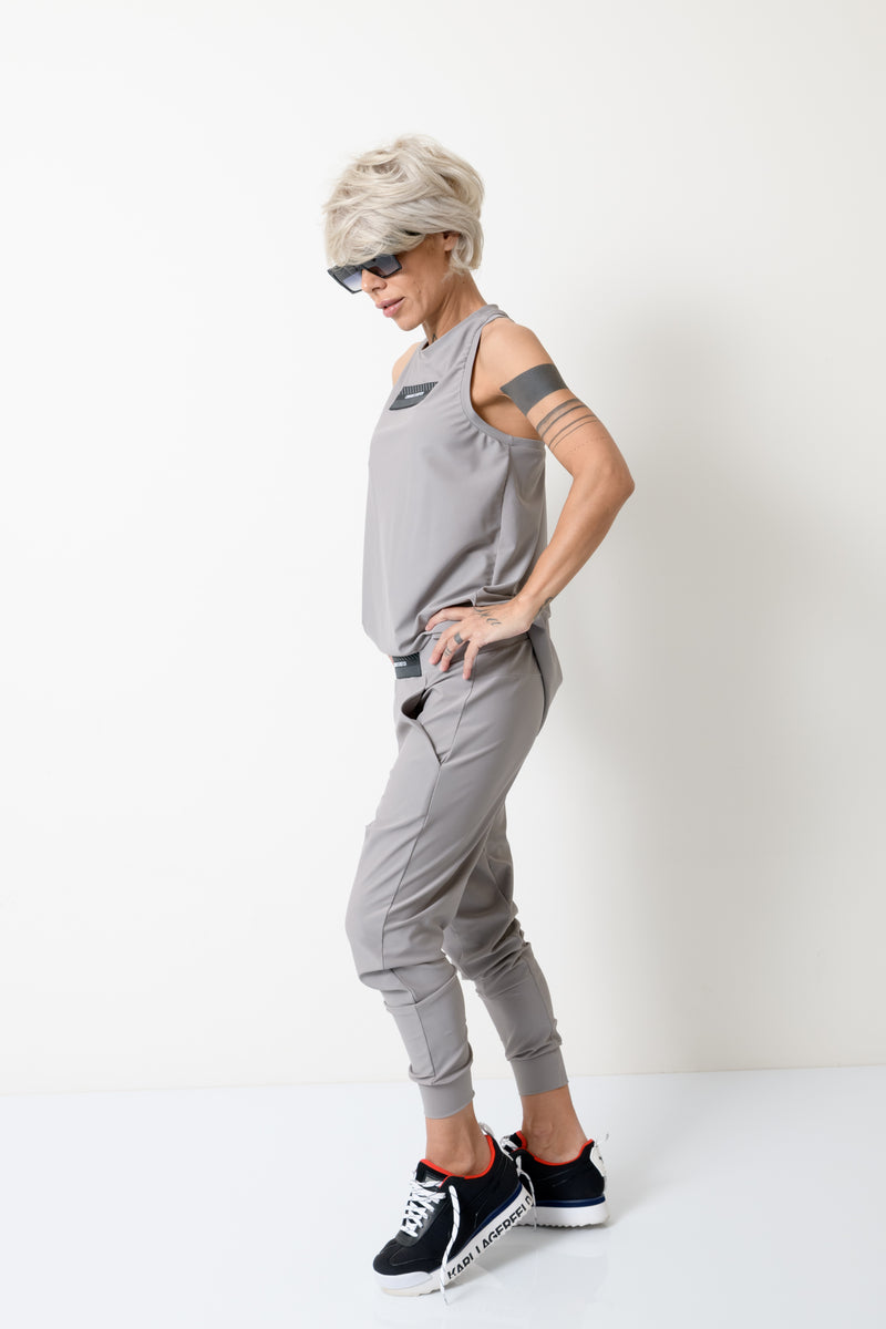 Grey Two Piece Tracksuit For Women - Clothes By Locker Room