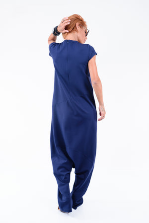 Extravagant Loose Harem Jumpsuit - Clothes By Locker Room