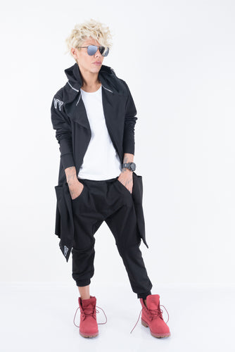 Loose NY Tracksuit in Black