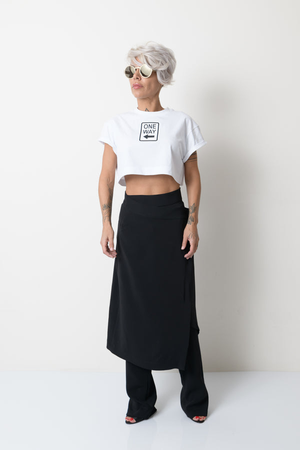 White Summer Crop Top for Women - Clothes By Locker Room
