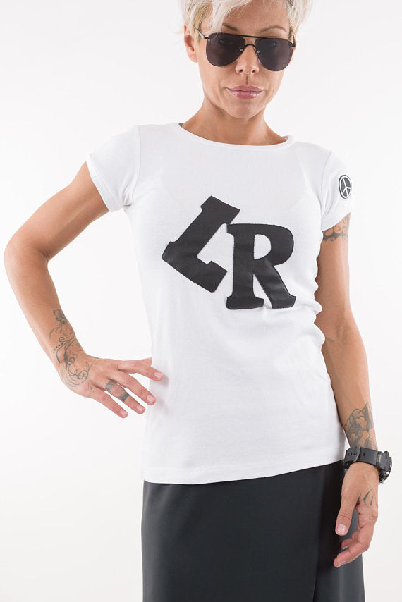 White Casual T Shirt - Clothes By Locker Room
