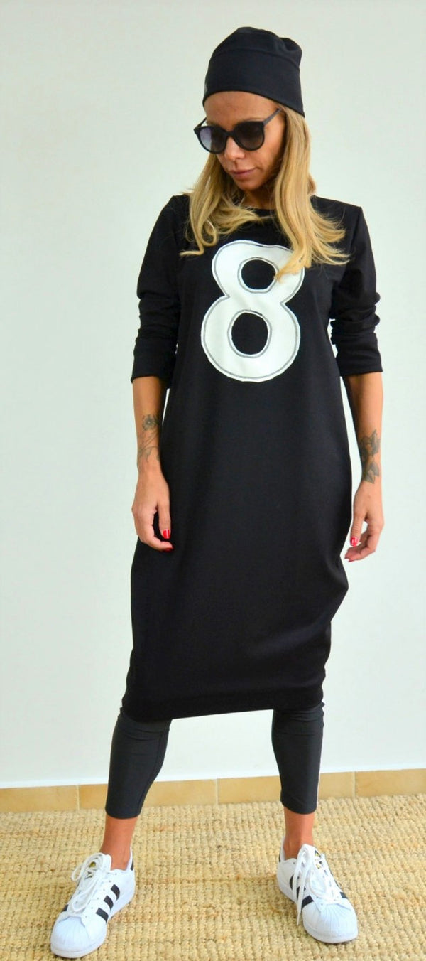 Winter Long Sleeved Tunic Dress - Clothes By Locker Room