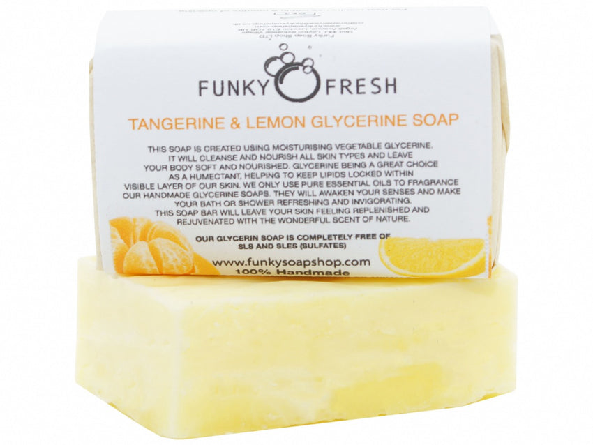 Tangerine And Lemon Glycerine Soap