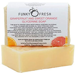 Grapefruit & Sweet Orange Glycerine Soap
