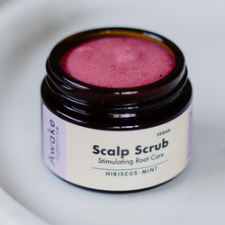 Awake Organics - Scalp Scrub Hibiscus Mint, 65ml
