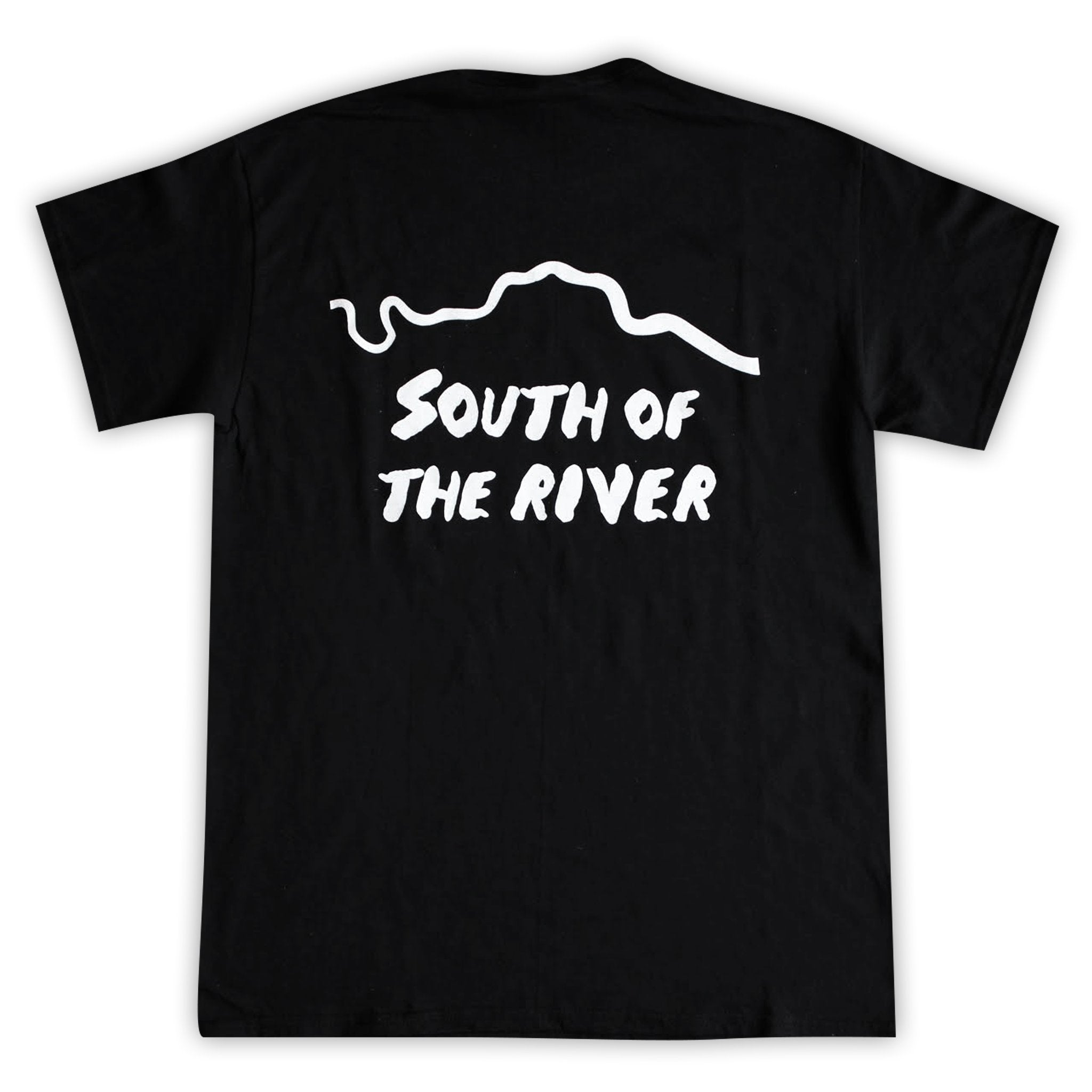 Daily Goods South Of The River T-Shirt Black / White