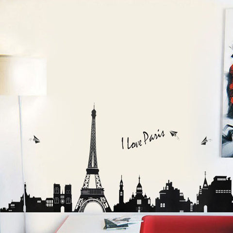 Eiffel Tower Wall Sticker