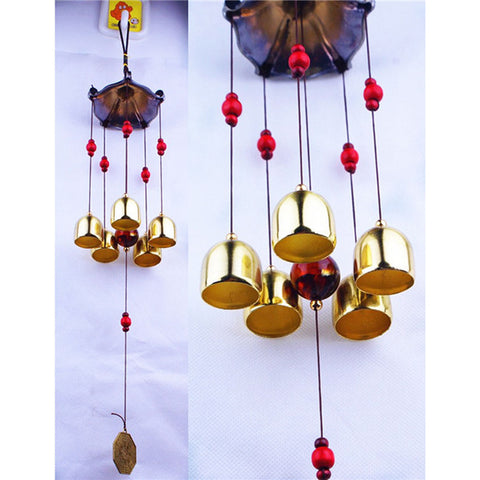 Copper Windchimes