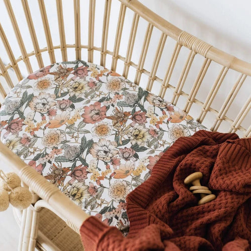 Bassinet Sheet - Australiana