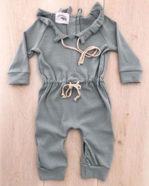 Piper Playsuit - Sage