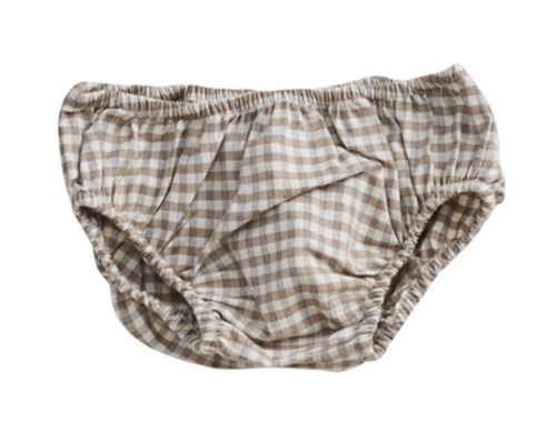 BLOOMERS - BEIGE GINGHAM
