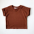 Harper Lounge Tee - Clay