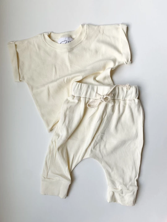 Harper Lounge Pants - Cream