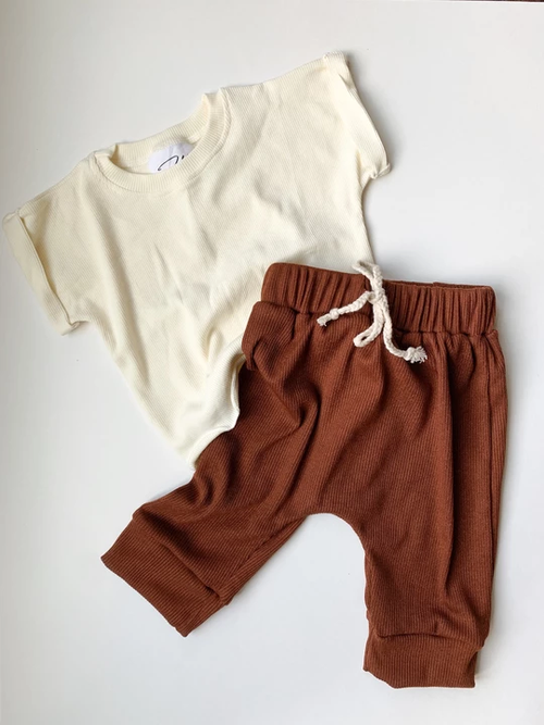 Harper Lounge Pants - Clay