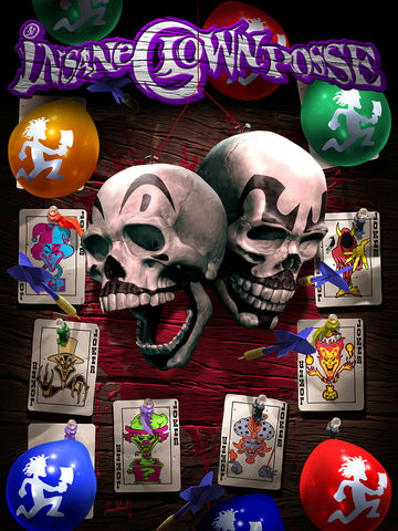 ICP Dart Game (Joker Card Collection)