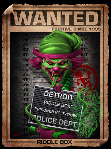 Riddle Box Wanted