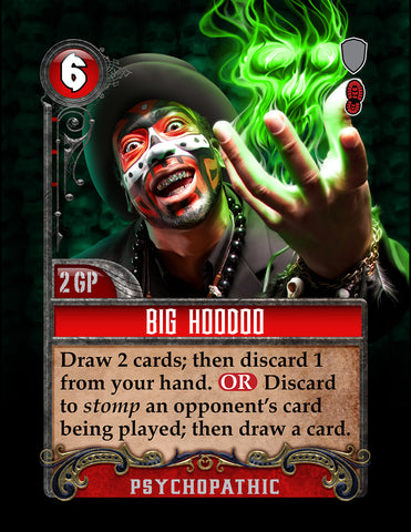 Big Hoodoo Card