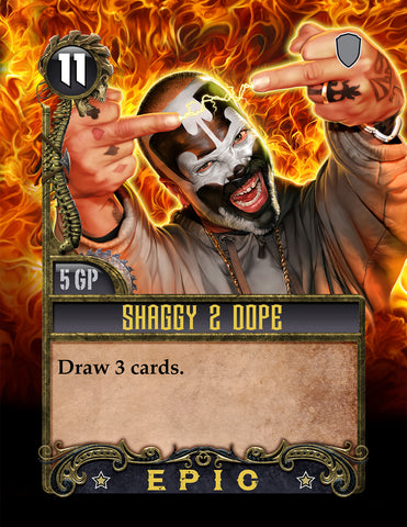 Shaggy 2 Dope Card