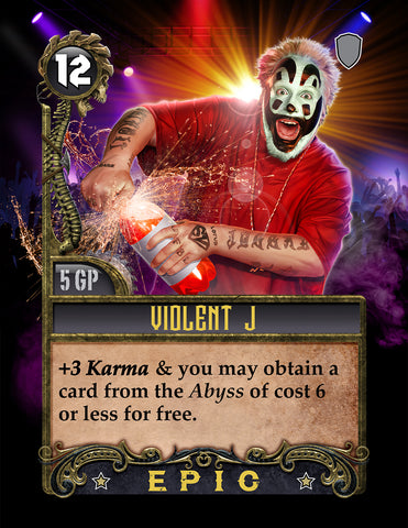 Violent Jay Deck Card